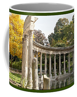 Coffee Mug featuring the photograph Ruins In The Park by Victoria Harrington