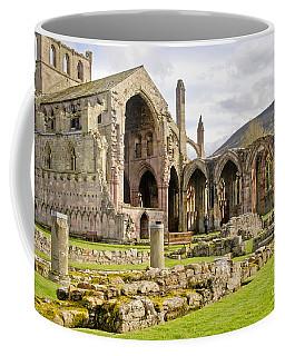Ruins. Melrose Abbey. Coffee Mug