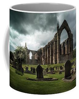 Ruins Of Bolton Abbey Coffee Mug by Jaroslaw Blaminsky