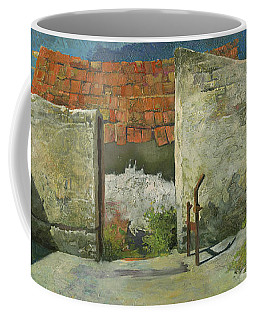 Ruins Of Farm In Hungary Coffee Mug