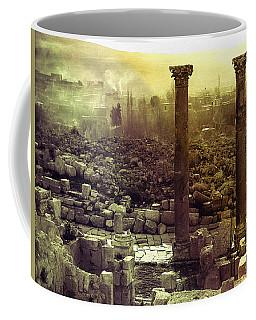 Coffee Mug featuring the photograph Ruins Of Jurash by Robert G Kernodle