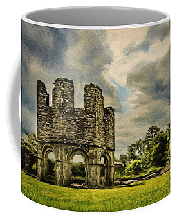 Ruins Of Mellifont Abbey Coffee Mug by Jeff Kolker
