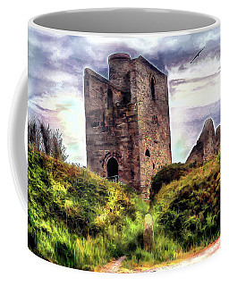 Ruins Of The Old Tin Mine Coffee Mug