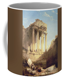 Ruins Of The Temple Of Bacchus Coffee Mug