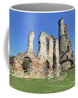 Coffee Mug featuring the photograph Ruins Of Zviretice Castle by Michal Boubin