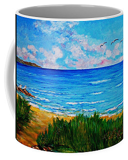 Rullsands Beach / Sweden-gaevle Coffee Mug