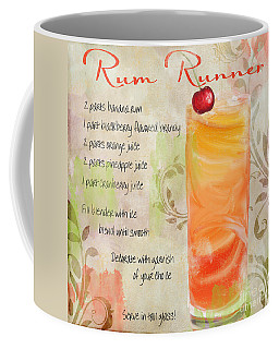 Rum Runner Mixed Cocktail Recipe Sign Coffee Mug