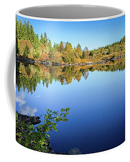 Coffee Mug featuring the photograph Ruminating The Fall by Geoff Smith