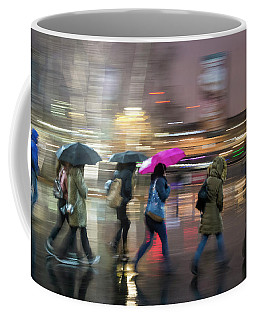 Run Between The Raindrops Coffee Mug