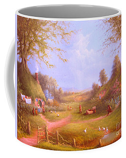 Run Bilbo Late For An Appointment Coffee Mug by Joe  Gilronan
