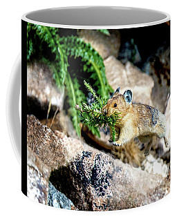 Run Run Little Pika Coffee Mug