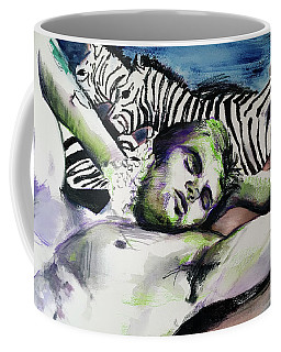 Runaway Zebra  Coffee Mug
