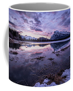 Rundle Mountain Skies Coffee Mug