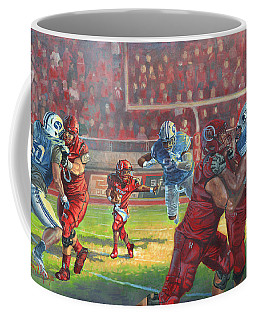 Running Courage Coffee Mug by Jeff Brimley