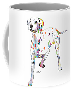 Running Dalmatian Coffee Mug
