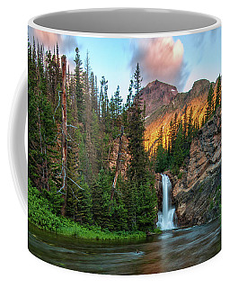Running Eagle Falls - Montana  Coffee Mug