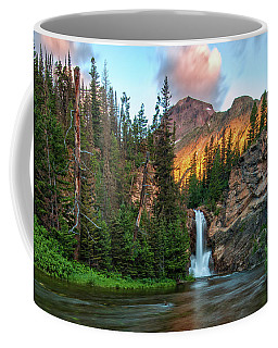 Running Eagle Falls - Montana  Coffee Mug