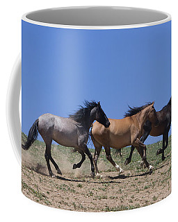Running Free- Wild Horses Coffee Mug