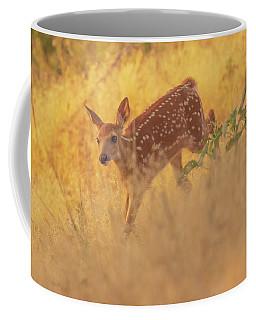 Coffee Mug featuring the photograph Running In Sunlight by John De Bord