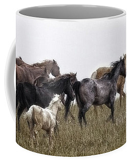Running On November's Wind Coffee Mug
