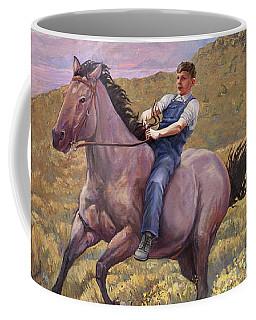 Runaway Roan Coffee Mug