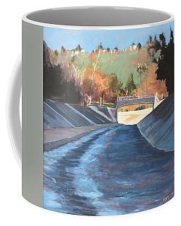 Running The Arroyo, Wet Coffee Mug