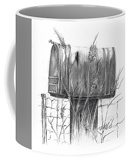Rural Country Mailbox Coffee Mug