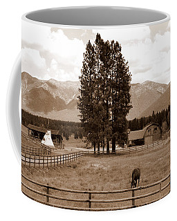 Rural Montana  Coffee Mug