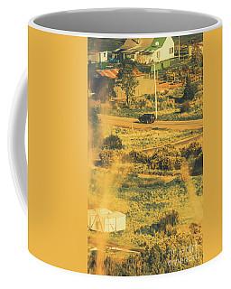 Rural Tasmania Landscape At Summer Coffee Mug