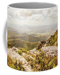 Rural Town Valley Coffee Mug