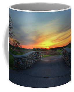 Rush Creek Golf Course The Bridge To Sunset Coffee Mug