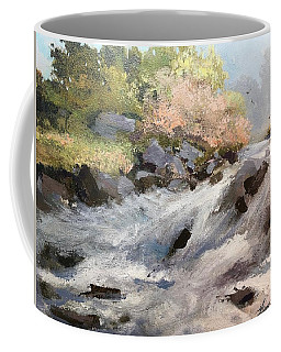 Rush Coffee Mug by Helen Harris