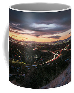 Rush Hour In Salt Lake City Coffee Mug