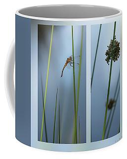 Rushes And Dragonfly Coffee Mug