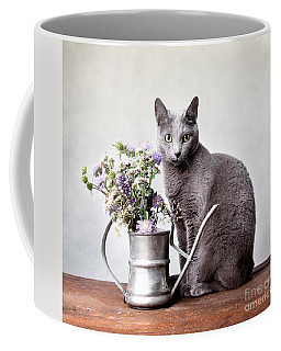 Russian Blue 02 Coffee Mug