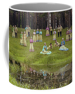 Russian Folk Group Coffee Mug