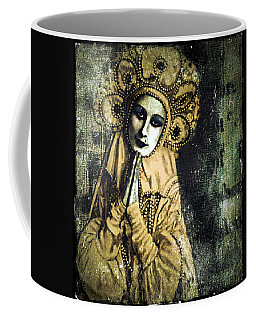 Coffee Mug featuring the digital art Russian Icon by Delight Worthyn