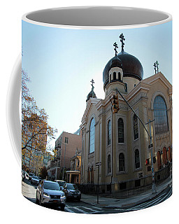 Russian Orthodox Cathedral Of The Transfiguration Of Our Lord Coffee Mug