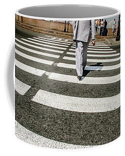 Russian Street Crossing Coffee Mug