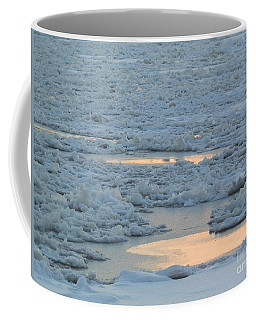 Russian Waterway Frozen Over Coffee Mug