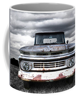 Rust And Proud - 62 Chevy Fleetside Coffee Mug