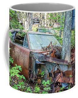 Rust Away Coffee Mug by Menachem Ganon