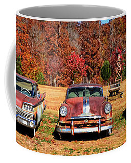 Coffee Mug featuring the photograph Rust In Peace 004 by George Bostian