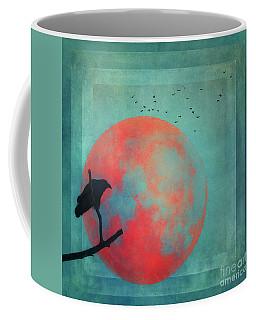 Rust Moon Coffee Mug