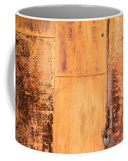 Rust On Metal Texture Coffee Mug by John Williams