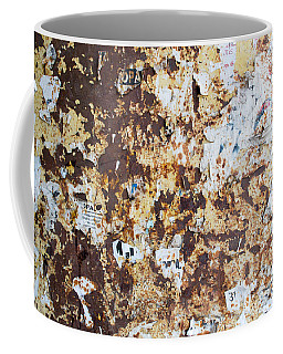 Rust Paper Texture Coffee Mug by John Williams