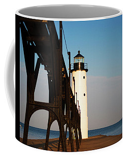 Coffee Mug featuring the photograph Rusted Arches by Sally Sperry