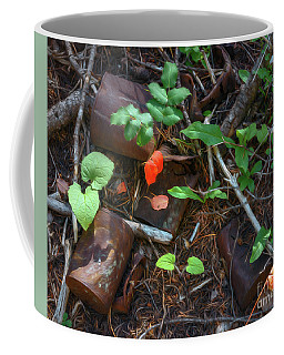 Coffee Mug featuring the photograph Rusted Beauty by Sharon Seaward