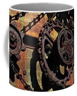 Rusted Gears Coffee Mug
