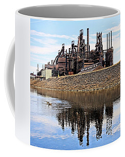 Rusted Relection Coffee Mug